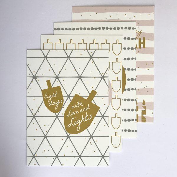 Chanoeka kaartenset EN